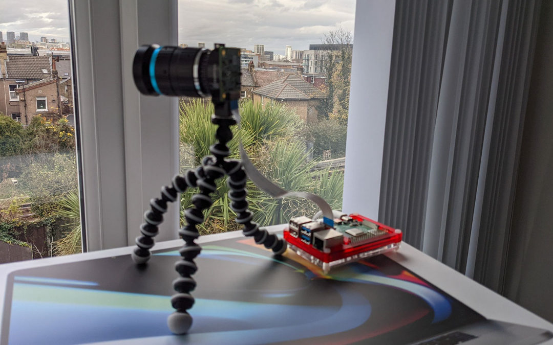How to create a time-lapse with the Raspberry PI HQ Camera