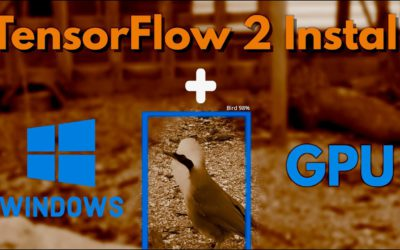 How to install Tensorflow 2.5 with CUDA 11.2 and CuDNN 8.1 for Windows 10