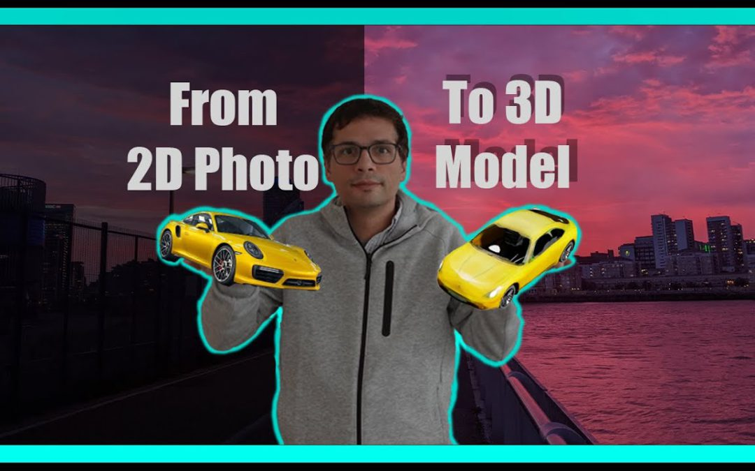 From a 2D Photo to a 3D Model with Nvidia Ganverse3D with Nvidia Omniverse Create